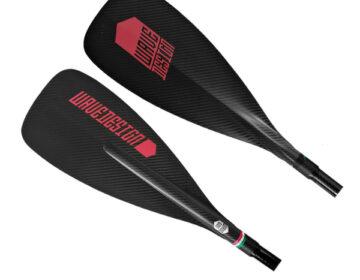 Carbon paddle sup wave