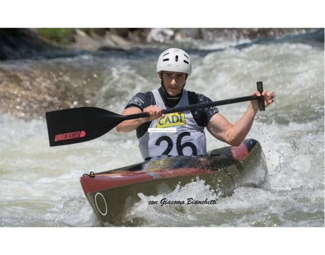 carbon paddle canoa MJÖLLNIR